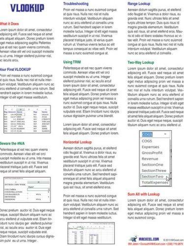 Excel VLOOKUP Tip Card (digital download)