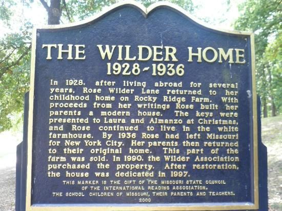 aka the Rock House - Picture of Laura Ingalls Wilder Historic Home ...