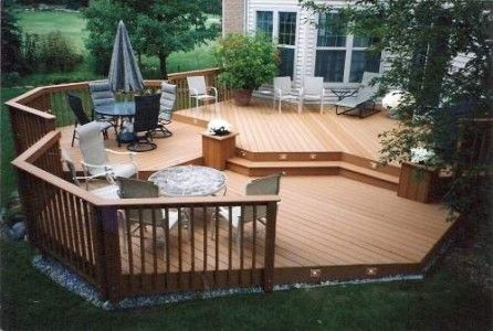 wood deck designs | wooden deck design model 446x300 Patio Deck Design Luxury and Modern ...
