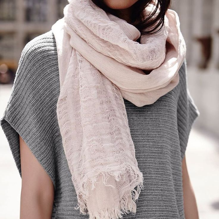 Can't wait for fall to pair chunky knit sweaters with light weight scarves. ❤️ #rwco #fashion #womenswear #womensfashion #style #outfit