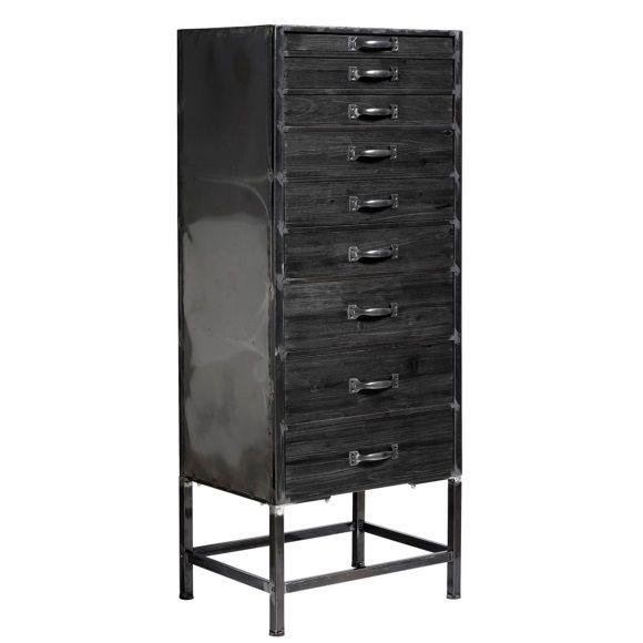 Nordal Wandkast 136 cm - Zwart