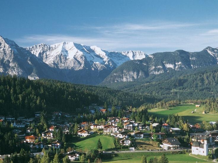 Seefeld, Austria, where we stayed.