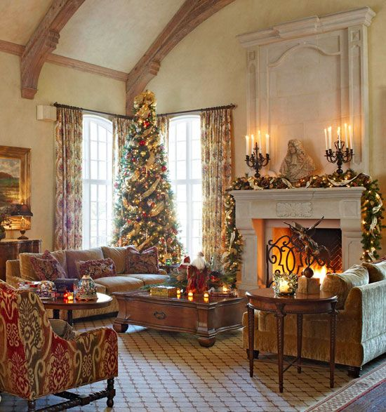 8 Classy Christmas Tree Decorating Ideas: 1000+ Ideas About Elegant Christmas Trees On Pinterest