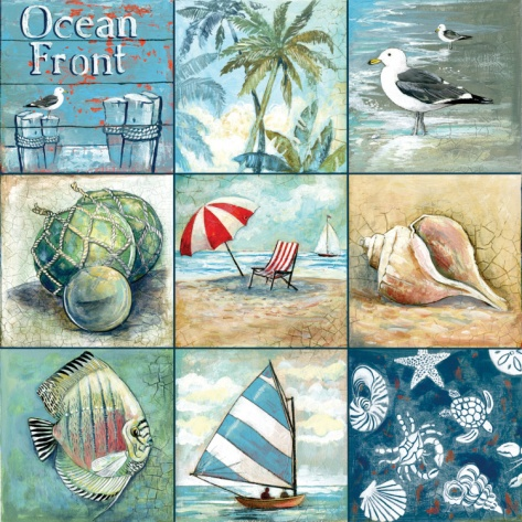 Ocean Front Print by Gregory Gorham at Art.com