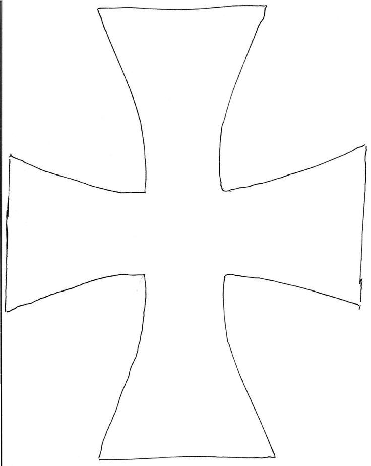 Knight Tunic Cross Template 0001 | Scribd