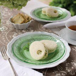 Chervil-Dill Egg Salad Sandwiches - Tea Time Magazine