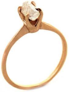avens | rough diamond ring