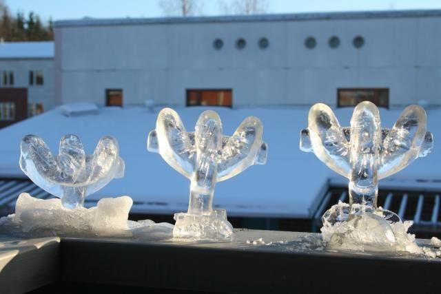 Jääkoristeet muotilla