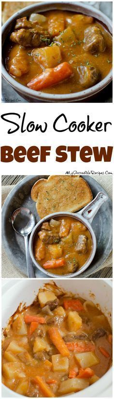 Slow Cooker Beef Stew!  Ruth