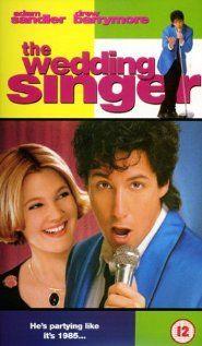 The Wedding Singer #AdamSandler #DrewBarrymore