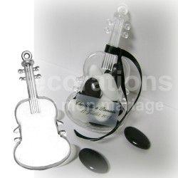 Contenants dragées musique guitare