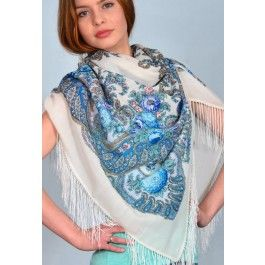Spring Brook Pavlovo Posad Shawl Our 10-day only 20% off on all wool shawls sale is here! Do not miss this once per year promotion!