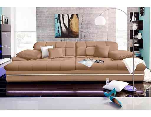 big sofa wahlweise in 2 gr en energieeffizienz a. Black Bedroom Furniture Sets. Home Design Ideas