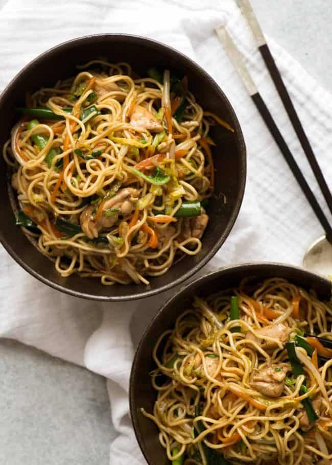 Chow Mein Recipe Chicken Chow Mein Chow Mein Food Recipes