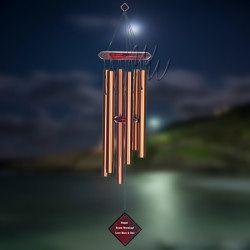 """Woodstock Percussion 27"""" Chimes of Pluto Wind Chime - Bronze"""
