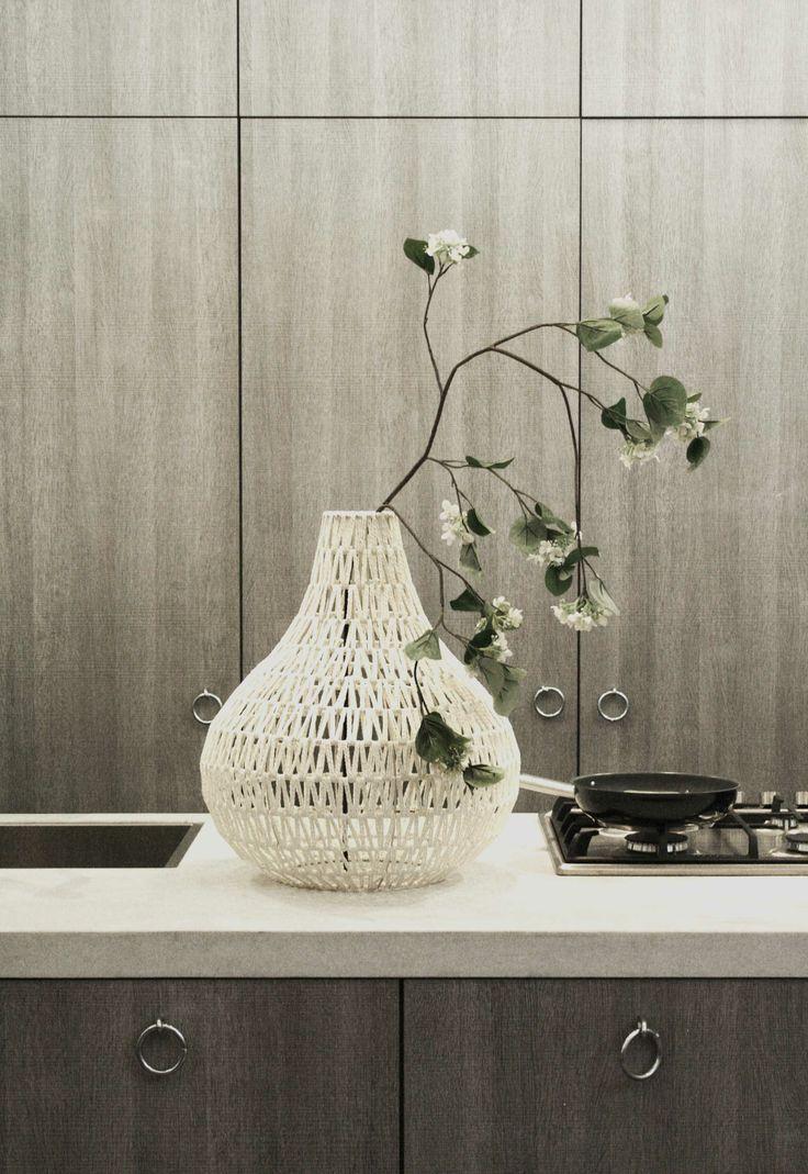 Vase, kitchen, styling, woonbeurs 2012