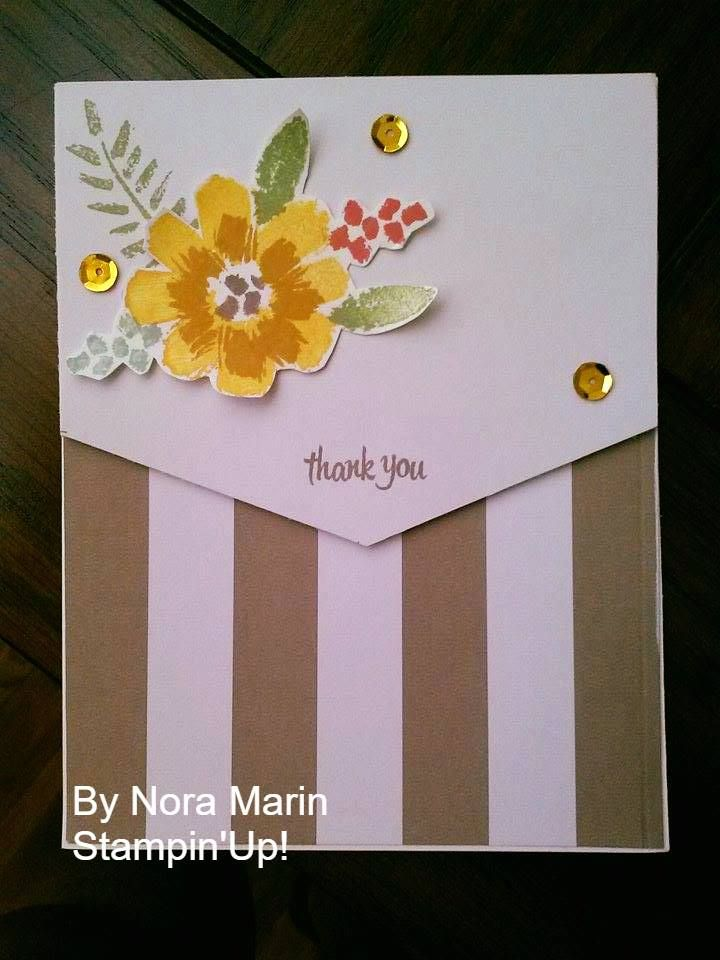 wedding thank you cards time limit%0A      JUNE paper pumpkin Kit Alternate Card Created by Nora Marin u   e