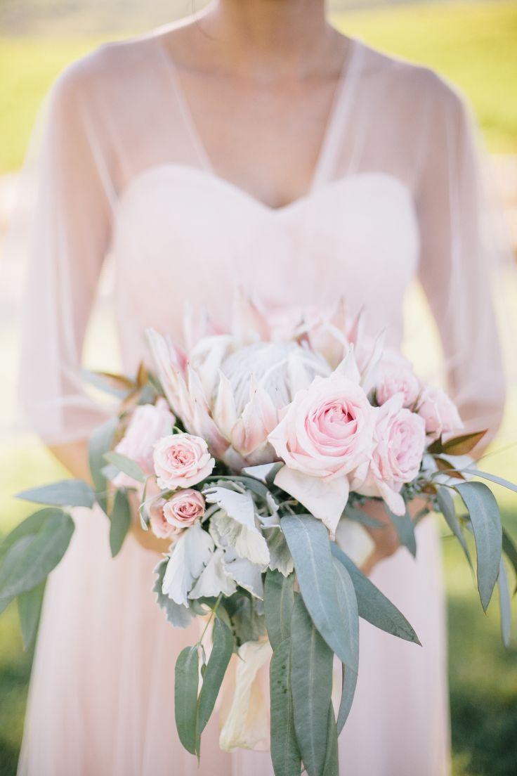 Pink Gray Wedding At Hammersky Vineyard