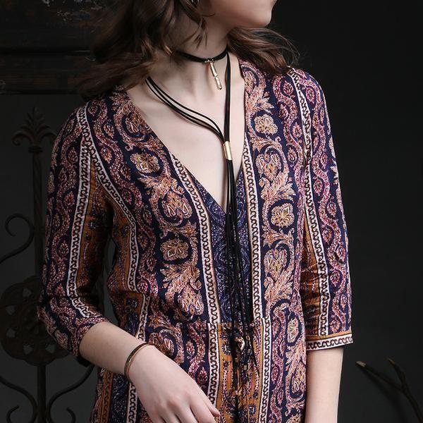 Dark Shades Choker/ Necklace | Bohemian | Gypsy | Indie | Hippie Style