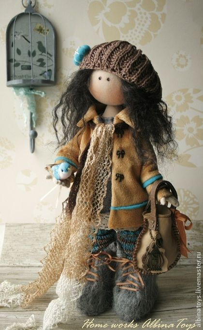Muñecas hechas a mano de colección.  Masters Feria artesanal - Based Sati .. hechos a mano.