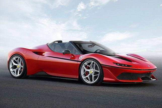 J50 - Ennyire gyönyörű autót régen mutatott be utoljára a Ferrari