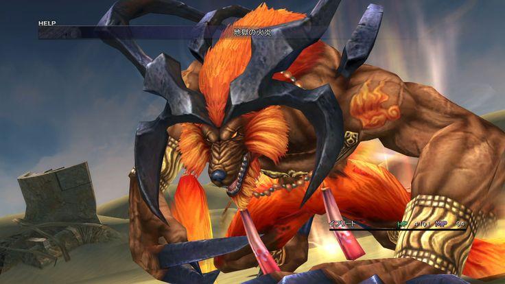 Final Fantasy X HD - Ifrit