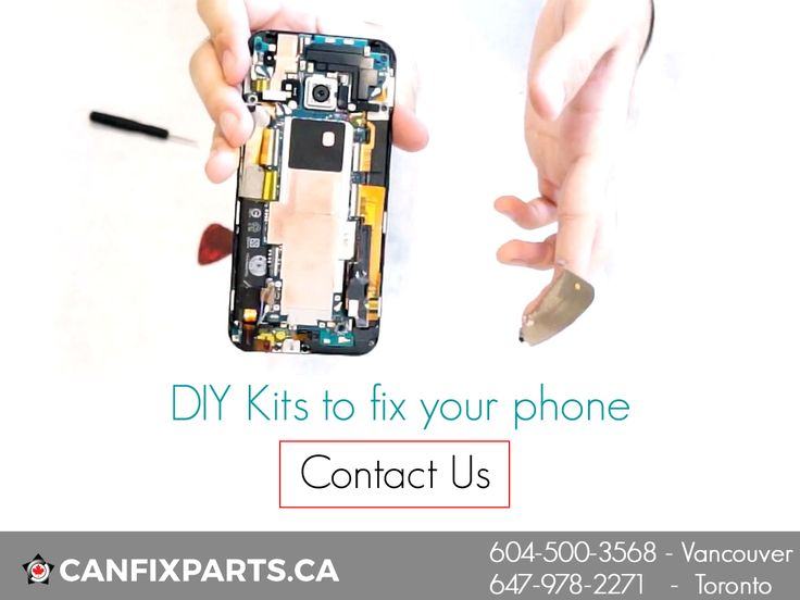 Don't be dependent on others. Get DIY Kits to FIX your #phone! Visit: www.canfixparts.ca / +1 647-860-2271 #repair