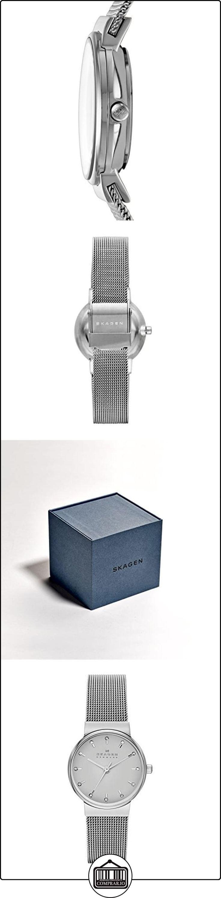 Anillo de acero inoxidable-reloj analógico de cuarzo de acero inoxidable SKW2195  ✿ Relojes para mujer - (Gama media/alta) ✿