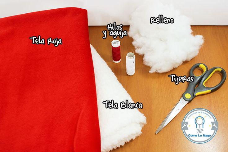 Cómo hacer un gorro de navidad | Como Lo Hago
