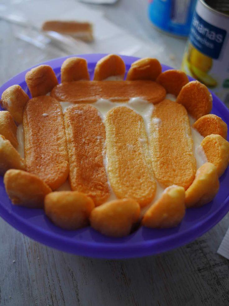Gateau charlotte a l ananas g teaux de vacances - Cuisiner patisson blanc ...