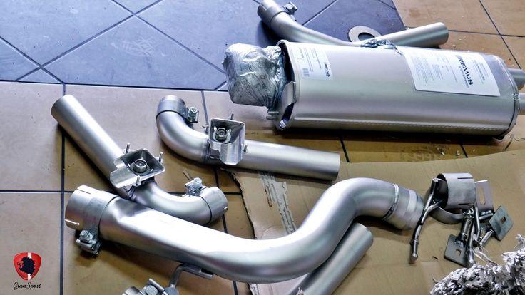 Tym razem do naszego serwisu trafiło Audi S3 w wersji Sedan. Zamontowaliśmy w prezentowanym egzemplarzu sportowy układ wydechowy cat-back z klapami REMUS INNOVATION.  Więcej informacji na naszym blogu: http://gransport.pl/blog/realizacja-audi-s3-sedan-remus/  Oficjalny Dealer Remus Polska GranSport - Luxury Tuning & Concierge http://gransport.pl/index.php/remus.html