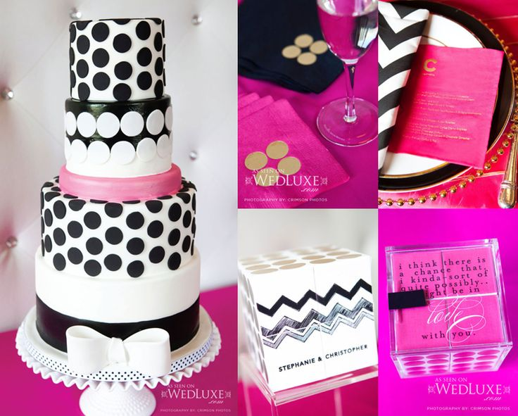 Kate Spade Inspired Baby Shower Cake For J