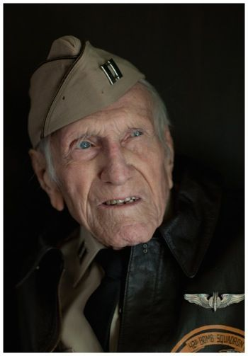 Louis Zamperini - Olympic athlete, WWII  Prisoner of War (Japan) - subject of the book UNBROKEN