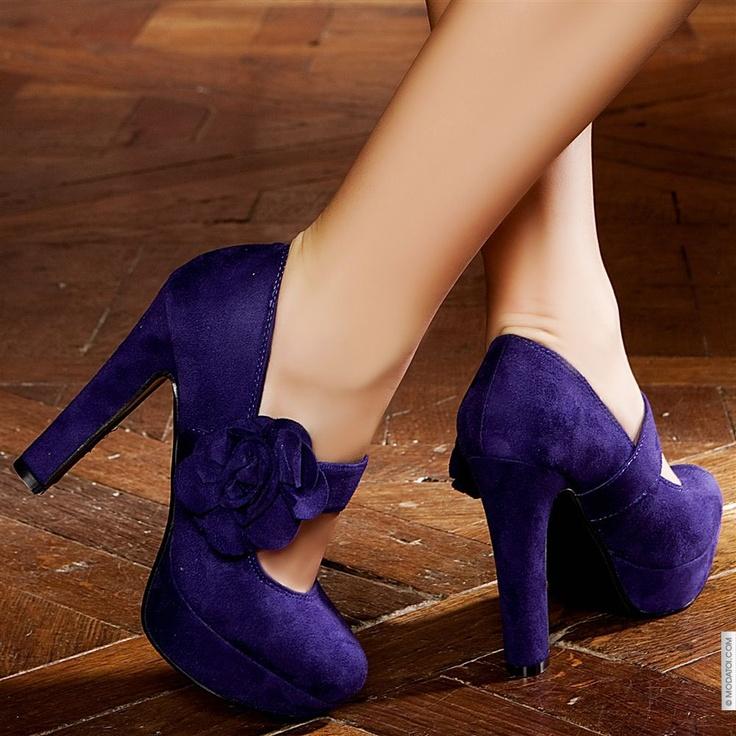 Escarpins femme Violet taille 37, achat en ligne Escarpins femme sur MODATOI
