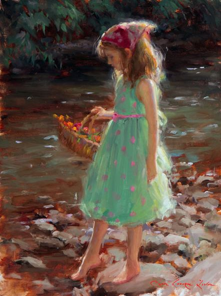 Bryce cameron liston american artist from utah realist for Paintings of toddlers