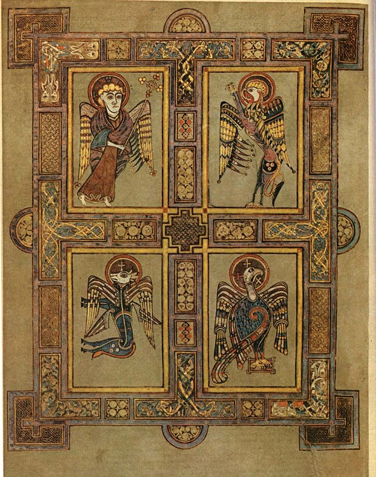 Did you know - there's an Aran sweater in the book of Kells!