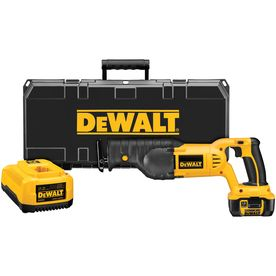Dewalt 18-Volt Variable Speed Cordless Reciprocating Saw Battery Inclu