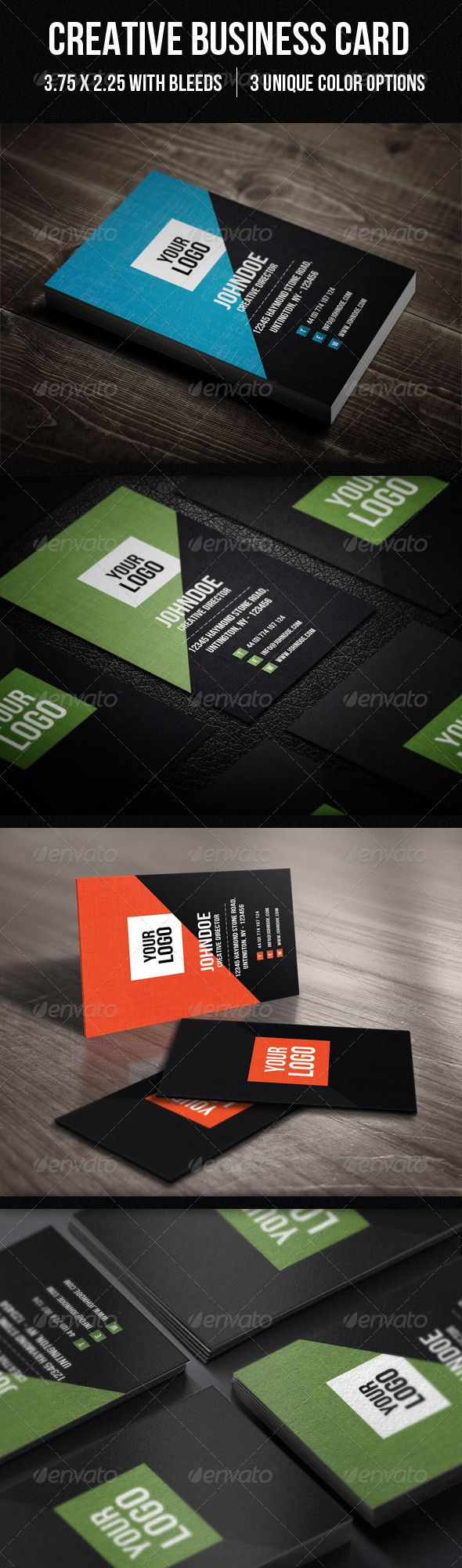 Clean Coporate Business card -