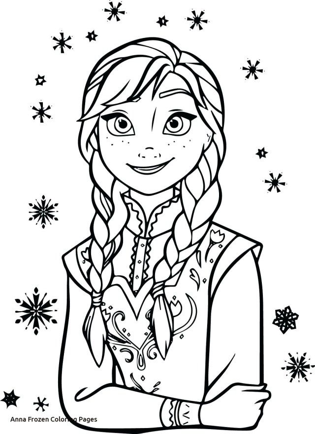 23 Inspired Picture Of Anna And Elsa Coloring Pages Birijus Com Malarbok Elsa Barn