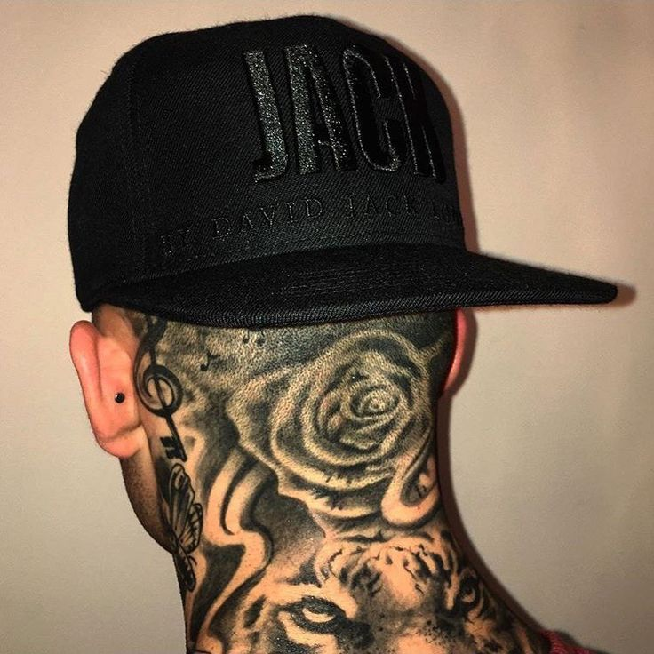 NEW] Neck Tattoo Designs for Men - WOW. These are Incredible!