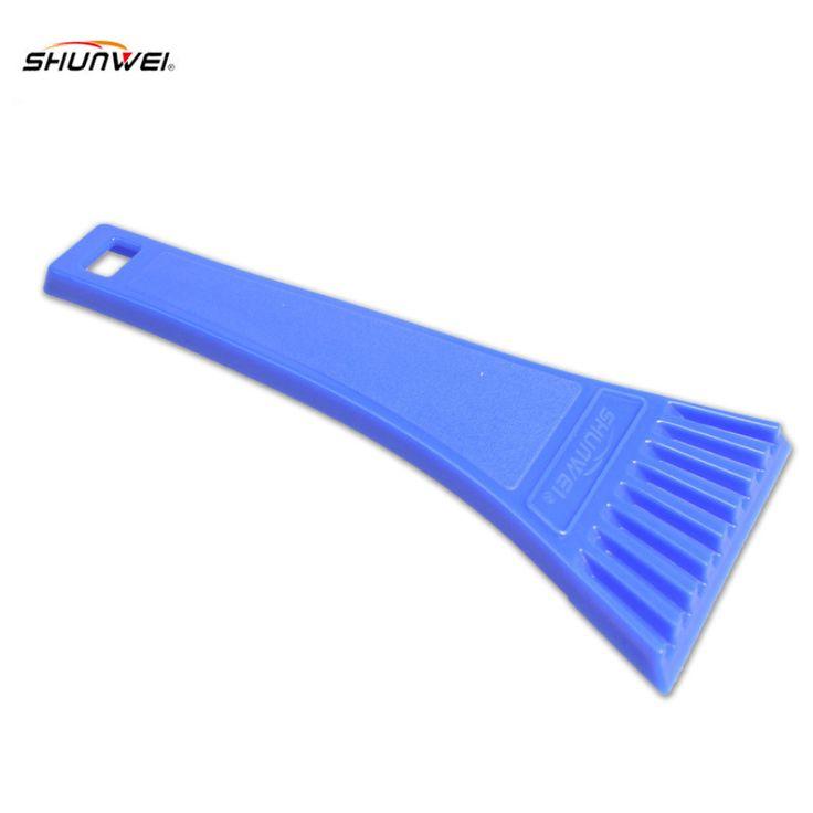 18*8 cm Blue Car Snowbrush SnoBroom vehículo de Nieve Raspador de Hielo Pala Removal Brush Invierno CARPRIE ABS
