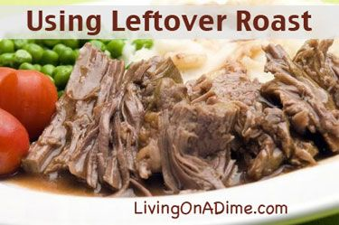 Slow Juicer Leftovers : Leftover roast beef, Roast beef and Roasts on Pinterest