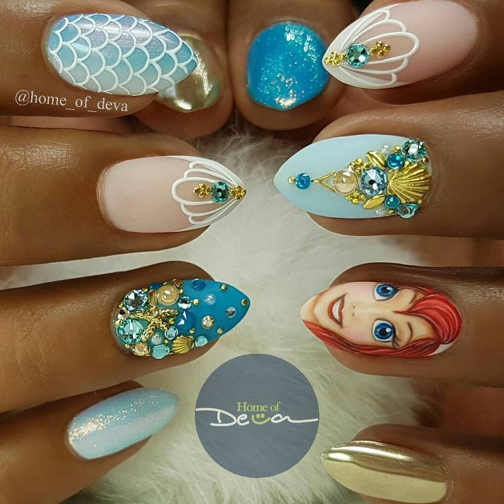 What's right for you might still be wrong for me *Scale ombre nail inspired by