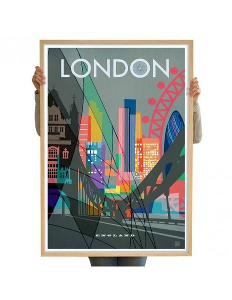 Yup!!   Limited edition city print - London from www.Antipodream.co.uk.