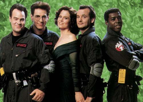 The Ghostbusters Crew