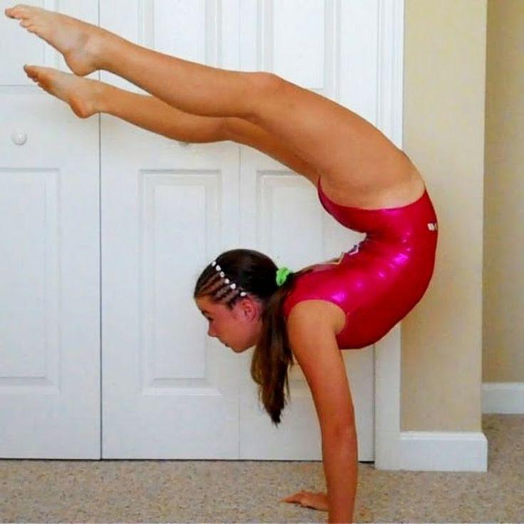 ass clip Gymnast