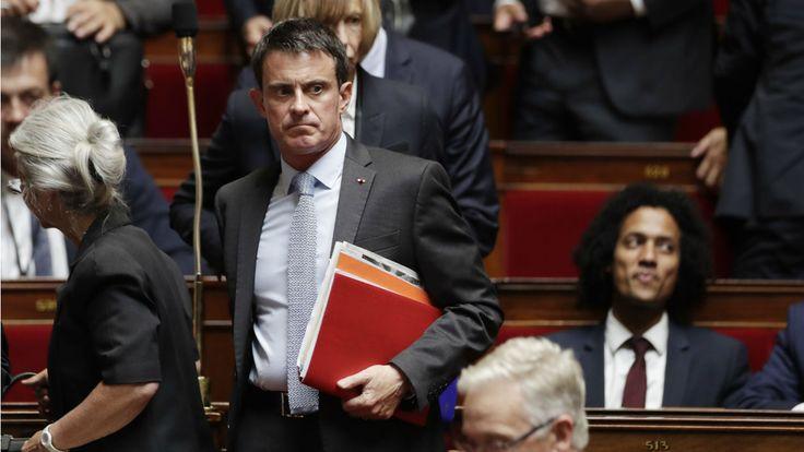 """Sénatoriales: En marche ne veut pas de la liste """"Valls"""""""
