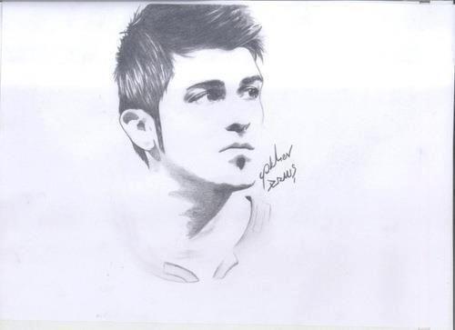 david villa drawing