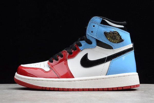2019 Air Jordan 1 High Og Fearless White University Blue Varsity