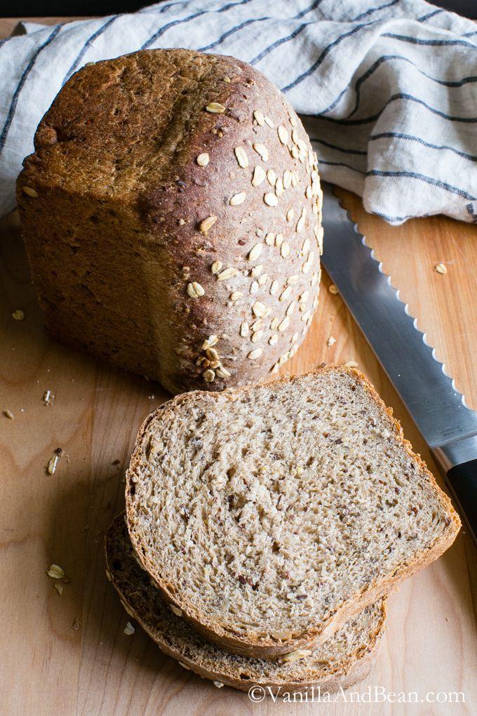 Multigrain Bread (vegan) | Vanilla And Bean